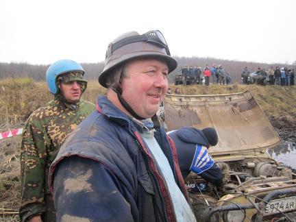 Гонки внедорожники Рузаевка 4 ноября 2012